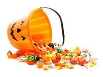 Halloweenowy cukierek Obraz Stock
