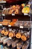 Halloweenowy cukierek dla sprzedaży Obrazy Royalty Free