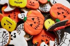 Halloweenowy deser Zdjęcia Stock