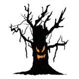 Halloweenowy drzewo Obrazy Stock