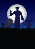 Halloweenowy duch ilustracji
