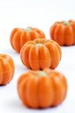 Halloweenowy dyniowy cukierek zdjęcia stock