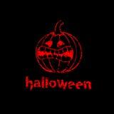 Halloweenowy dyniowy tło Zdjęcia Stock