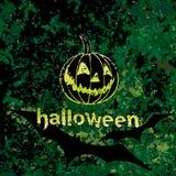 Halloweenowy dyniowy tło. Zdjęcia Royalty Free