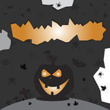 Halloweenowy dyniowy wakacje Obraz Stock
