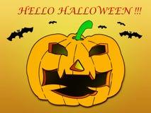 Halloweenowy dzień Zdjęcia Stock