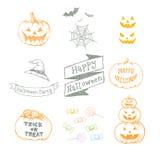 Halloweenowy dzień Fotografia Stock