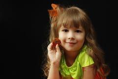 Halloweenowy dzieciak zdjęcie royalty free