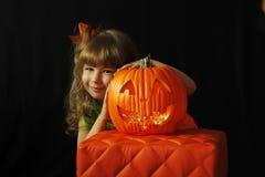 Halloweenowy dzieciak obraz stock