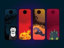 Halloweenowy elementu set Obraz Stock