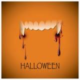 Halloweenowy festiwalu kąsek I krwi tło royalty ilustracja