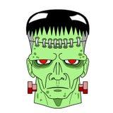 Halloweenowy Frankenstein ilustracji