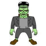 Halloweenowy Frankenstein ilustracja wektor