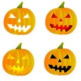 Halloweenowy Jack o lampion Obraz Royalty Free