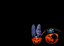 Halloweenowy Jackolanterns Zdjęcia Stock