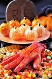 Halloweenowy jedzenie Zdjęcie Royalty Free