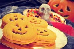 Halloweenowy jedzenie Zdjęcie Stock