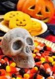 Halloweenowy jedzenie Fotografia Royalty Free