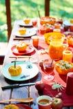 Halloweenowy jedzenie obraz royalty free