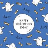 Halloweenowy kartka z pozdrowieniami Fotografia Stock
