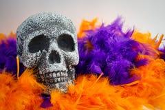 Halloweenowy kościec Zdjęcia Royalty Free
