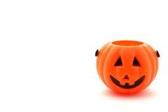 Halloweenowy kosz Obrazy Stock