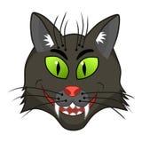 Halloweenowy kot ilustracja wektor