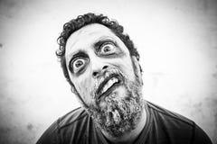 Halloweenowy mężczyzna potwór Fotografia Royalty Free