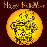 Halloweenowy mamusia żywy trup E Fotografia Royalty Free