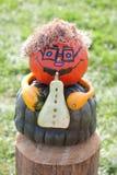 Halloweenowy muzyk zdjęcie stock
