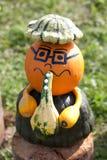 Halloweenowy muzyk fotografia stock