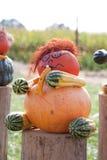 Halloweenowy muzyk zdjęcie royalty free