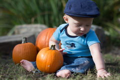 Halloweenowy niemowlak Obraz Stock