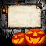 Halloweenowy pojęcie Obrazy Royalty Free
