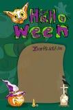 Halloweenowy powitania tło Zdjęcie Royalty Free