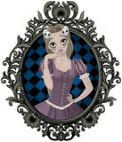 Halloweenowy Princess Obraz Royalty Free