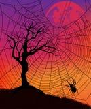 Halloweenowy projekt Zdjęcie Stock