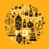 Halloweenowy projekt Halloweenowy projekt Fotografia Stock