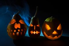 Halloweenowy przybycie wkrótce fotografia royalty free