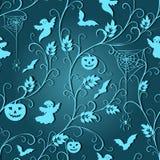 Halloweenowy rocznika wzór Obraz Royalty Free