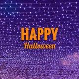 Halloweenowy słowo Zdjęcia Royalty Free
