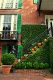 Halloweenowy schody Obraz Royalty Free