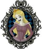 Halloweenowy Sypialny piękno Obrazy Royalty Free