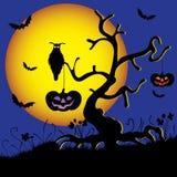 Halloweenowy tło Fotografia Royalty Free