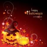 Halloweenowy tło Obrazy Royalty Free