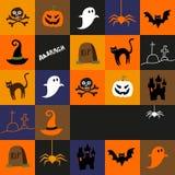 Halloweenowy tło royalty ilustracja