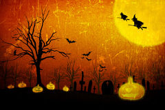 Halloweenowy tło Fotografia Stock