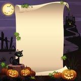 Halloweenowy tło 01 Obraz Royalty Free