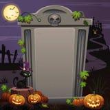 Halloweenowy tło 02 Obraz Stock