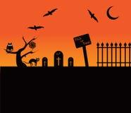 Halloweenowy temat Zdjęcie Stock